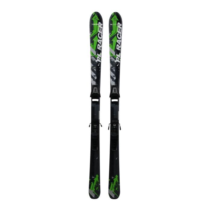 Gebrauchte Skier Junior Pale Racer + Befestigungen