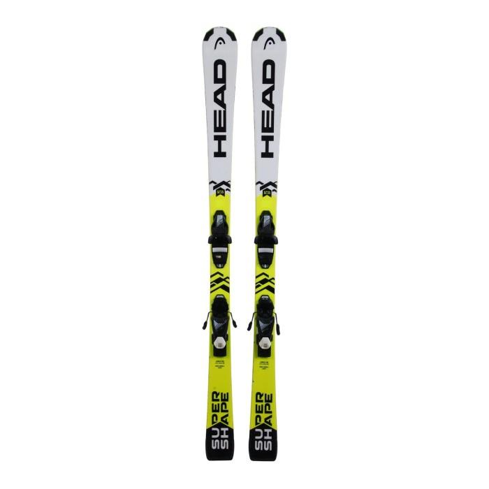 Ski occasion junior Head Supershape + fixations