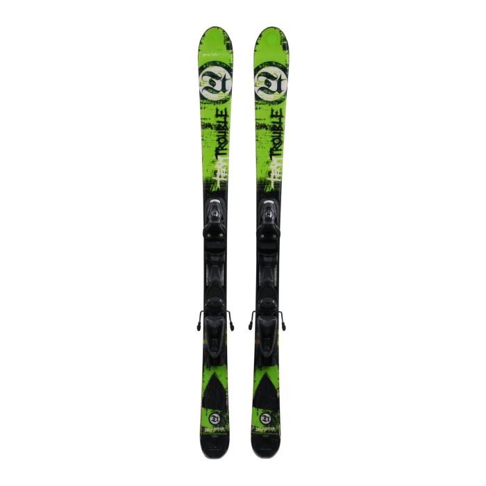 Ski für Junior Dynastar Team Trübe + Befestigungen