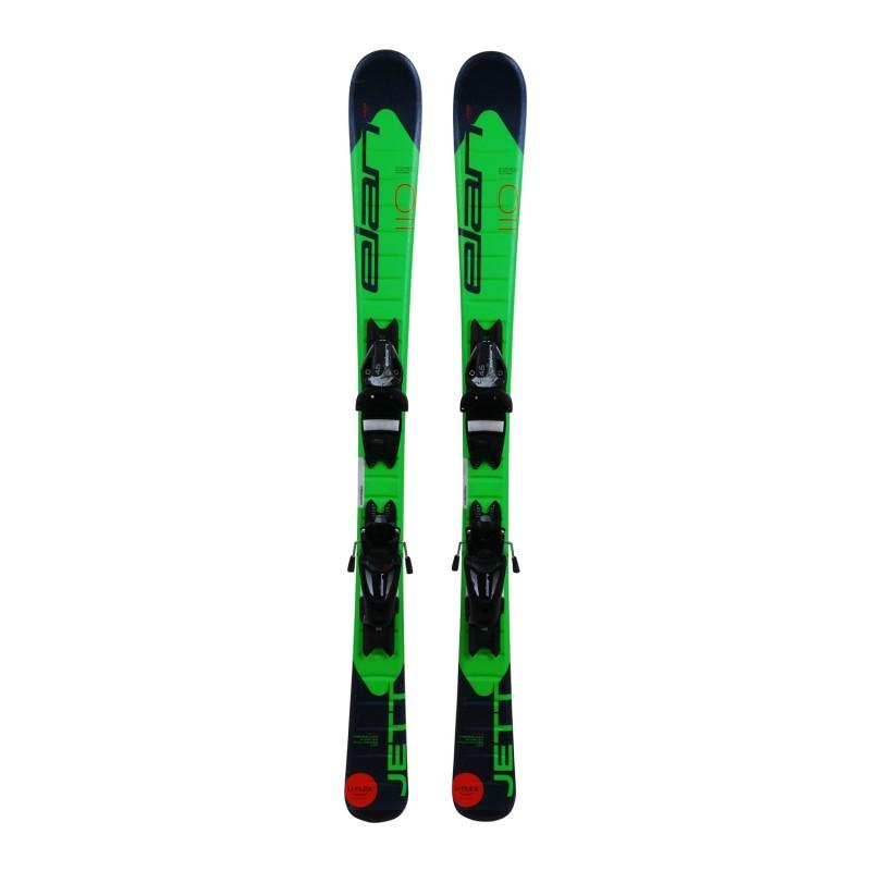 Ski occasion junior Elan Jett QS + fixations - Qualité A