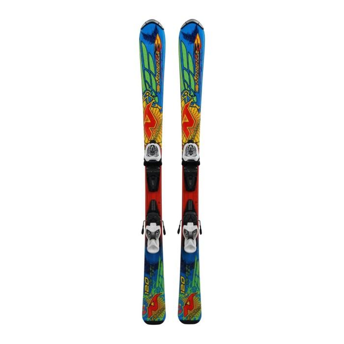 Ski occasion Junior Nordica Fire Arrow Team + fixations