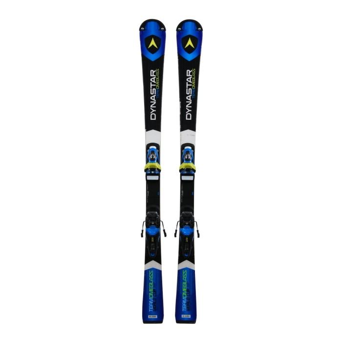 Gebrauchte Ski für Junior Dynastar Team Omeglass WC + Befestigungen