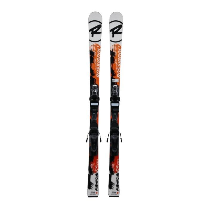 Gebrauchte Junior-Ski Rossignol Radical GS Pro + Befestigungen