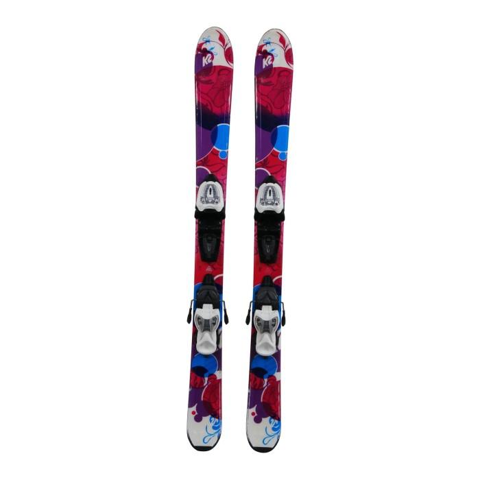 Ski occasion junior K2 Luv Bug + fixations