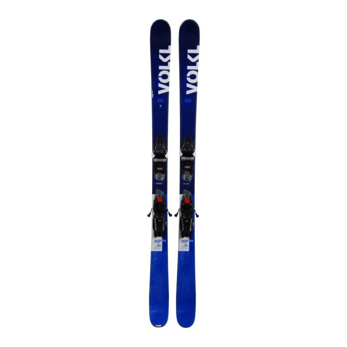 Gebrauchte Ski junior Volkl Alley + Befestigungen