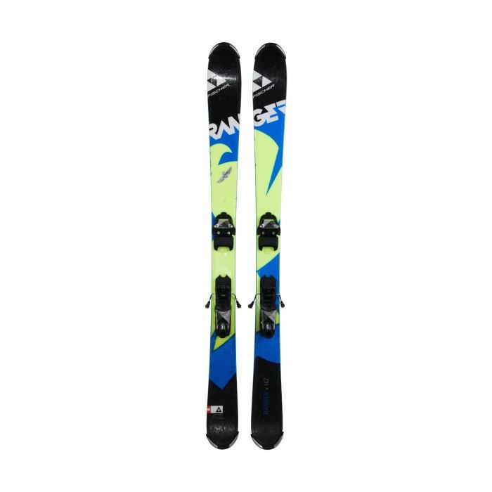Ski occasion junior Fischer Ranger vert/noir + fixations