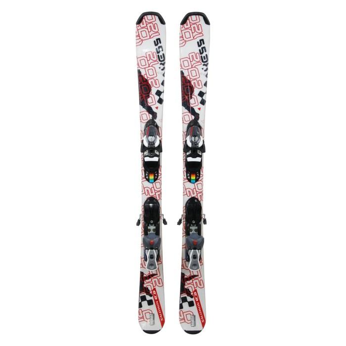 Mini Ski Used Salomon axes - bindings