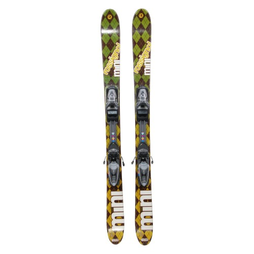 Mini ski occasion Rossignol the Mini + fixations