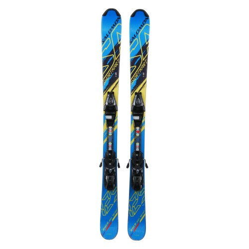 Mini Ski occasion Salomon shortkart + fixations