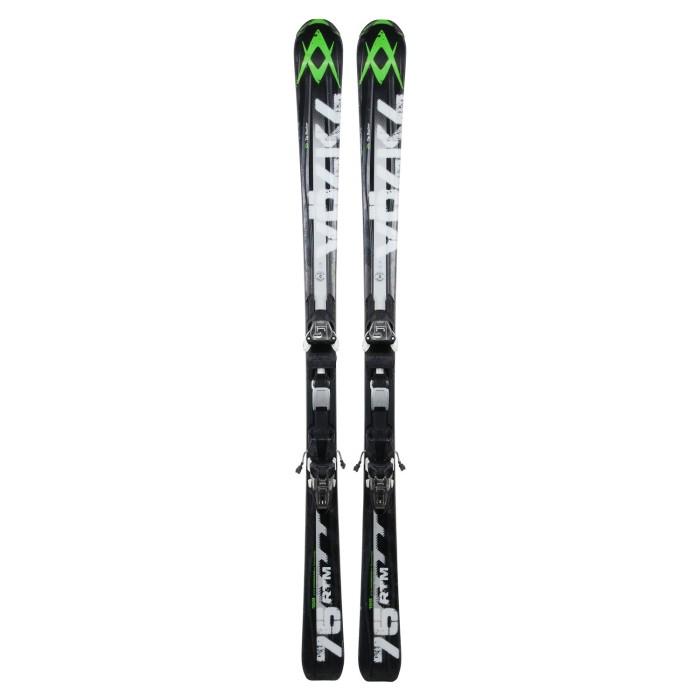 Gebrauchte Skier Volkl RTM 75 + Befestigungen