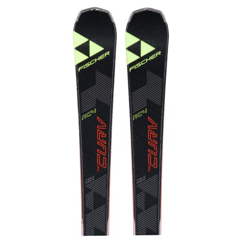 Ski used Fischer RC4 the Curv ' bindings