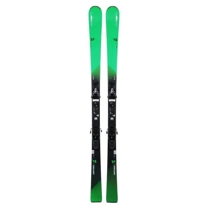 Ski occasion Elan Amphibio 14 ti + Fixations