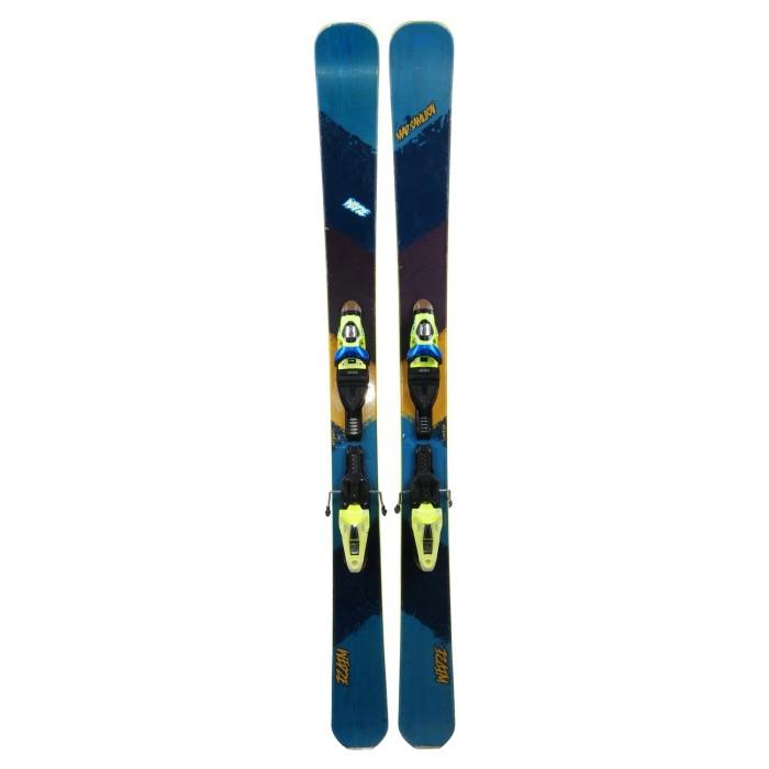 Ski usó Wed'ze Mad samurai - fijaciones