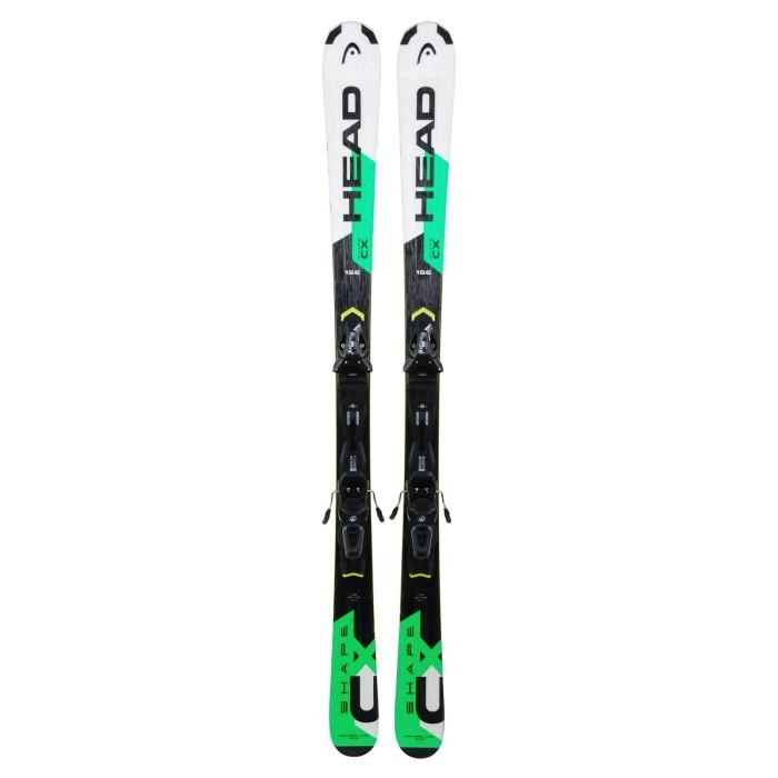 Gebrauchte Ski-Head Shape CX + Befestigungen