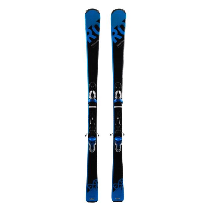 Ski used Rossignol Experience 77 Basalt - bindings