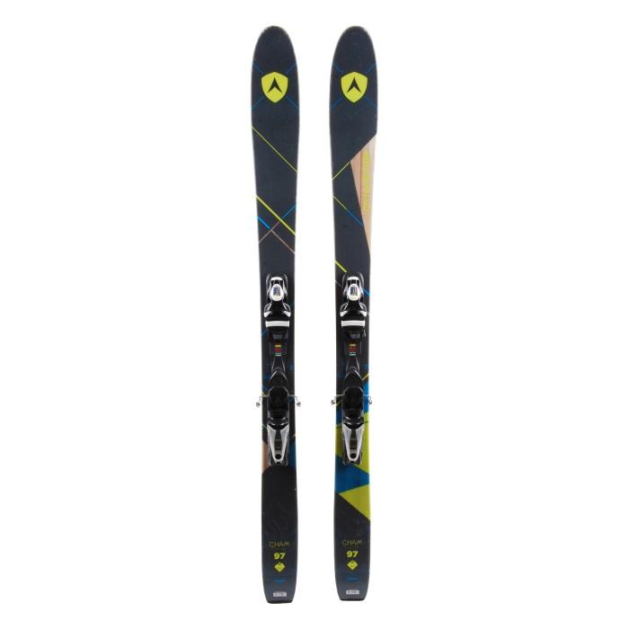 Gebrauchte Ski Dynastar Cham 2.0 97 w + Befestigungen