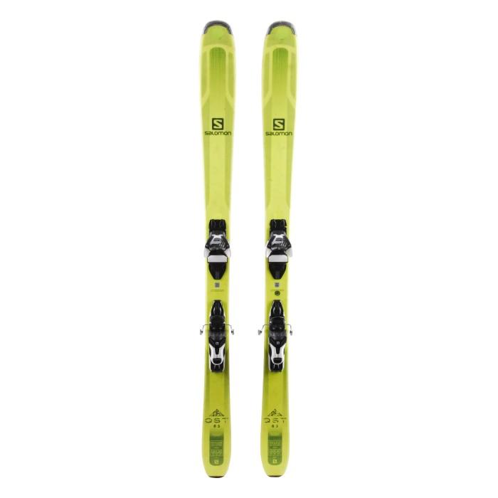 Ski Salomon QST 85 ocasión - fijaciones