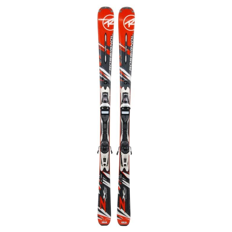 Ski occasion Rossignol Zenith ZX 3D Carbon + fixations - Qualité B