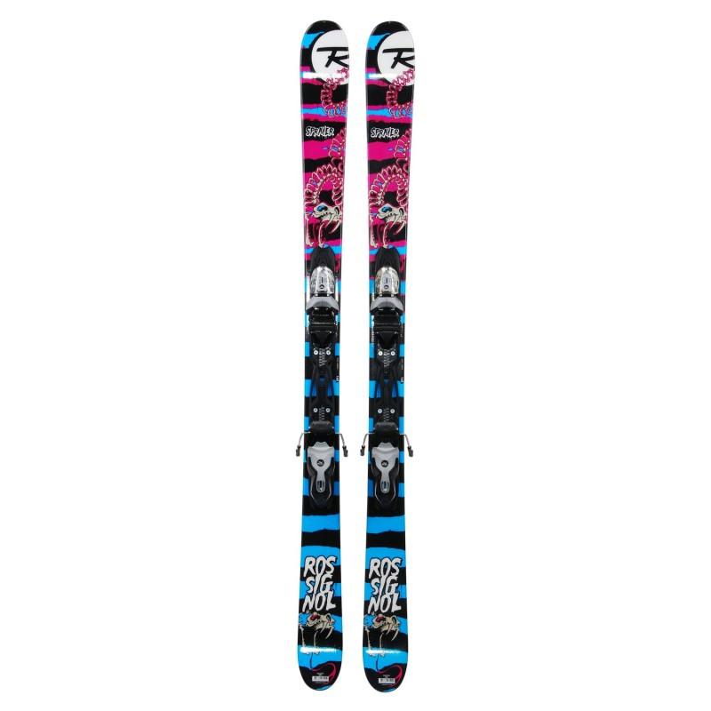 Ski occasion Rossignol Sprayer pink blue - bindings - Quality A