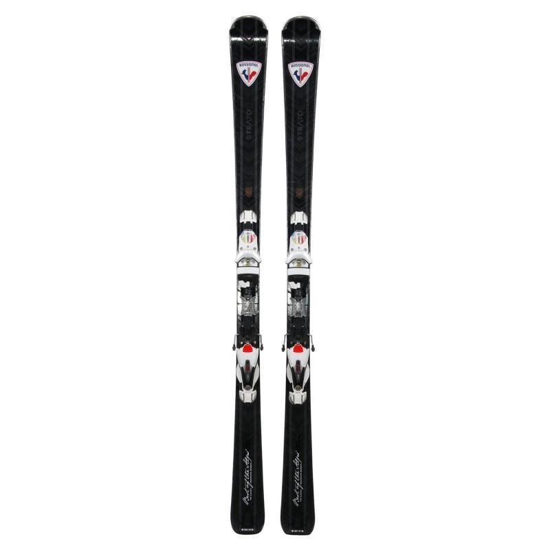Gebrauchte Ski nachtigall Strato Best of the Alps + Befestigungen - Qualität A