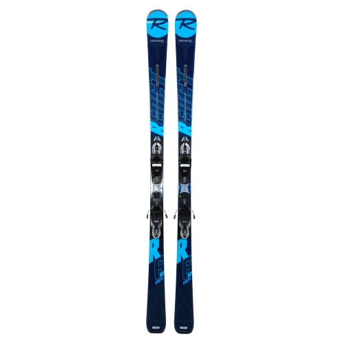 Ski occasion Rossignol React 6 HP + fixations