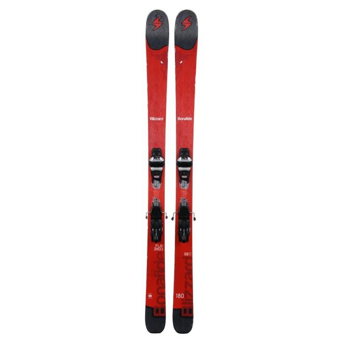 Gebrauchte Ski Blizzard Bonafide + Befestigungen