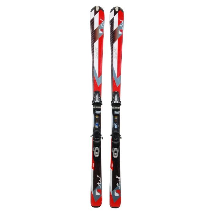 Esquí utilizado Stuf S2K - fijaciones