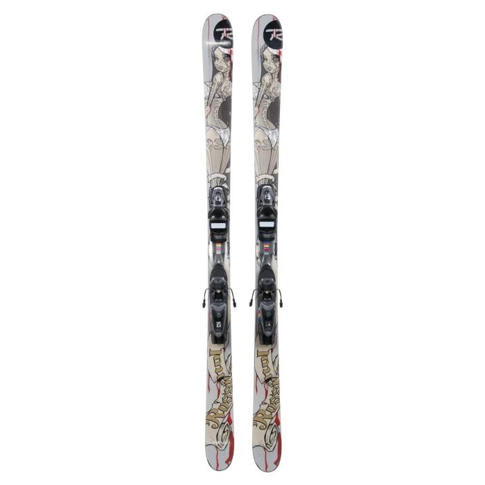 Esquí utilizado Rossignol S1 - fijaciones