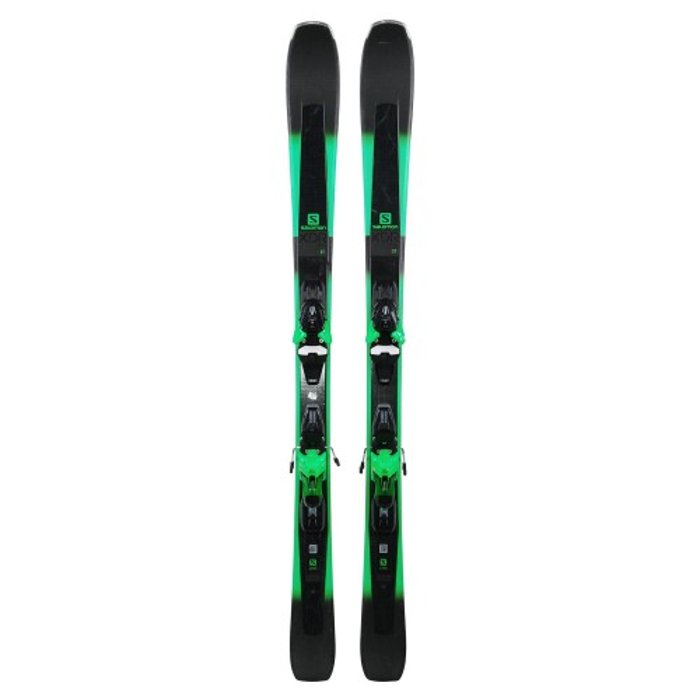 Ski used Salomon XDR 78 ST - bindings