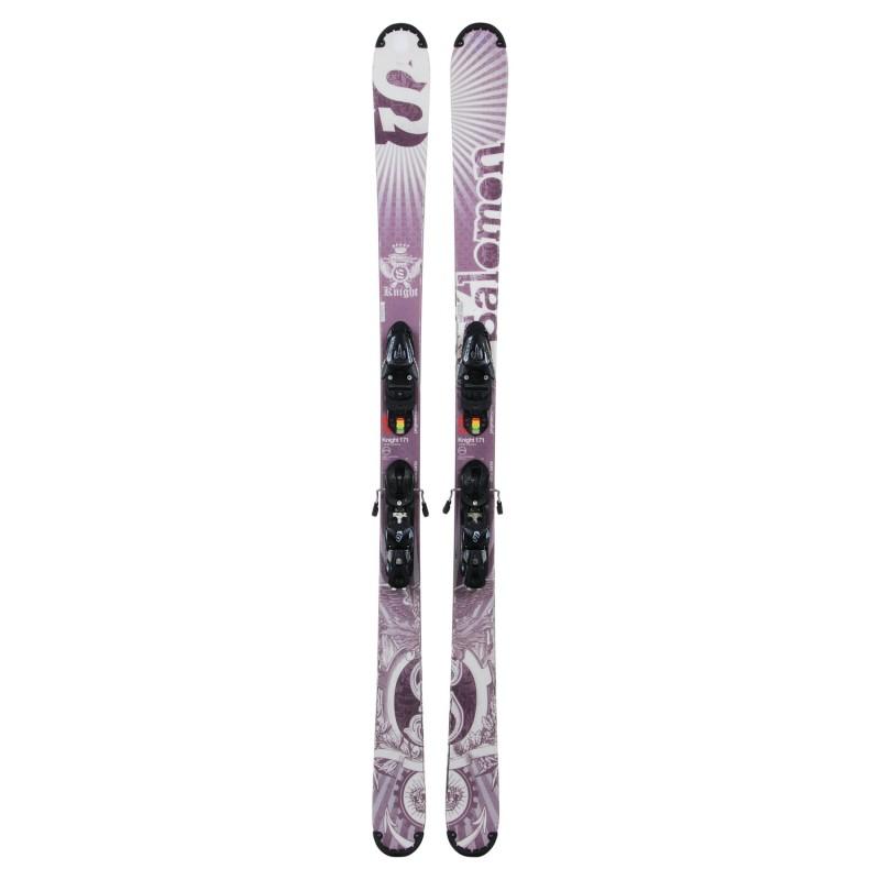 Ocasión de esquí Salomon Knight - fijaciones - Calidad B