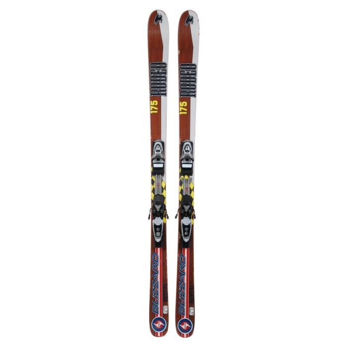 Ski occasion Blizzard Rodéo + fixations
