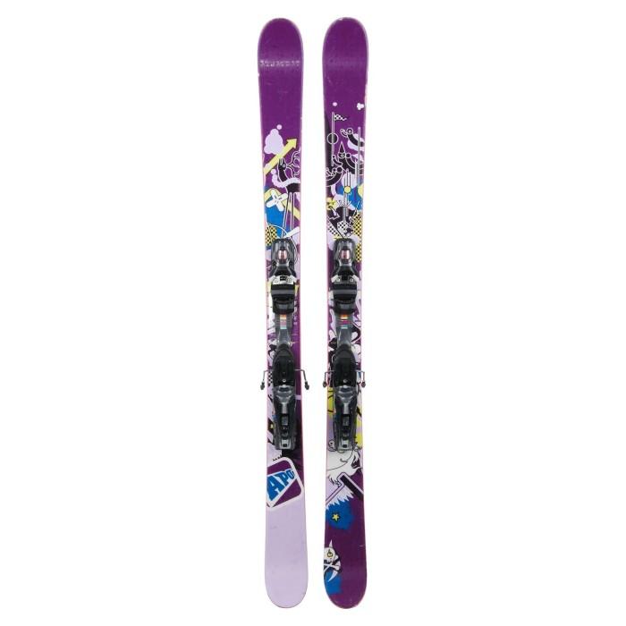 Gebrauchte Ski für Junior APO Marielle + Befestigungen