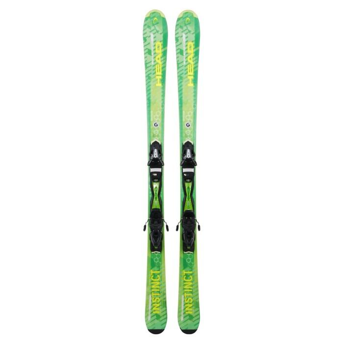 Ski occasion Head Pure instinct vert + fixations