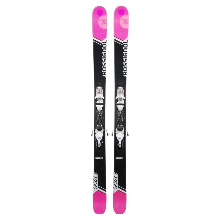 Ski occasion Rossignol Sassy 7 + fixations