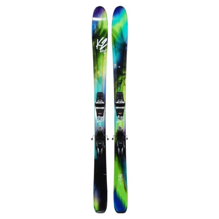 Ski occasion K2 Fulluvit 95 ti + fixations
