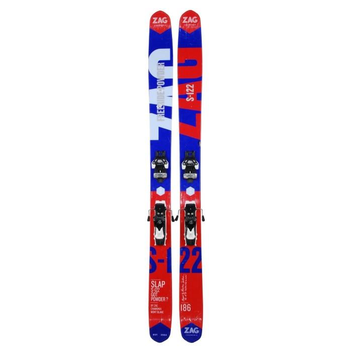 Ski occasion Zag S 122 + fixations