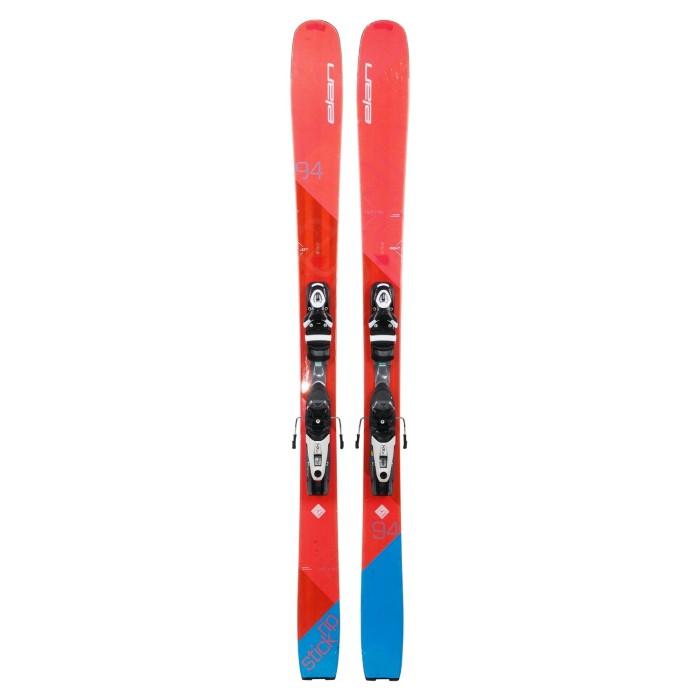 Ski occasion Elan Ripstick 94W + Befestigungen