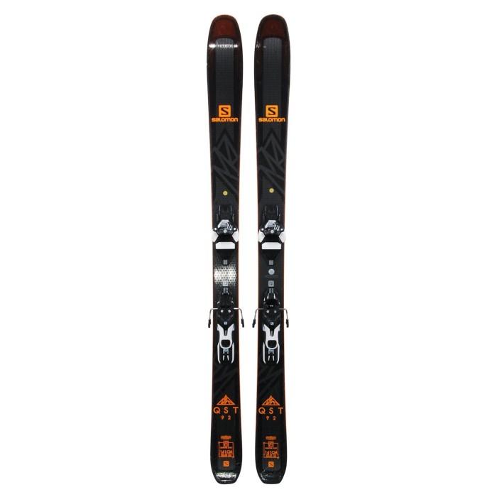 Ski occasion Salomon QST 92 + fixations