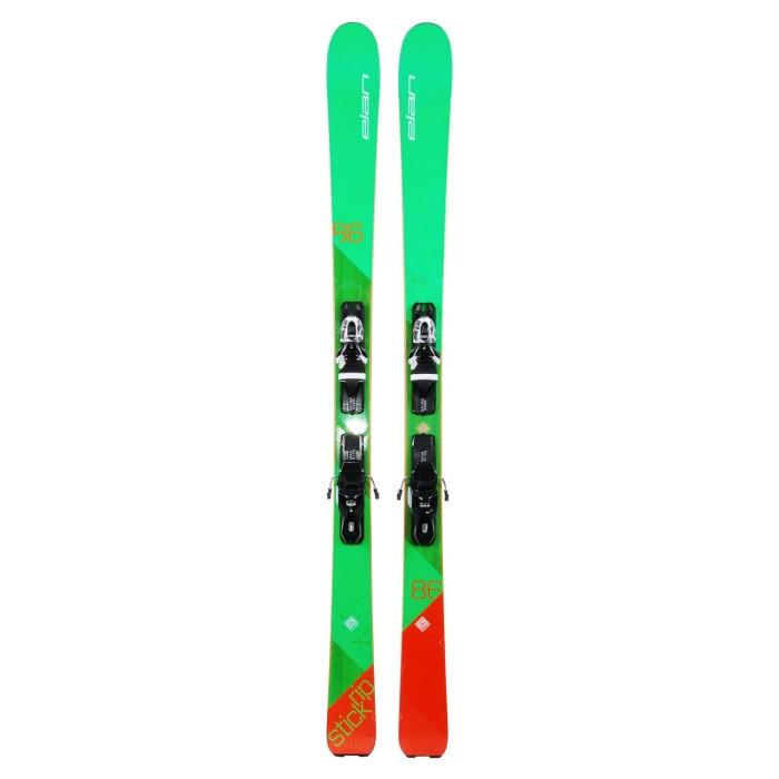 Ski occasion Elan Ripstick 86 + Fixations