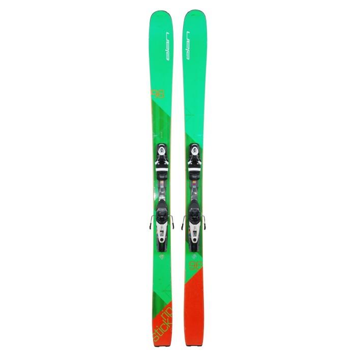 Ski occasion Elan Ripstick 96 + Fixations