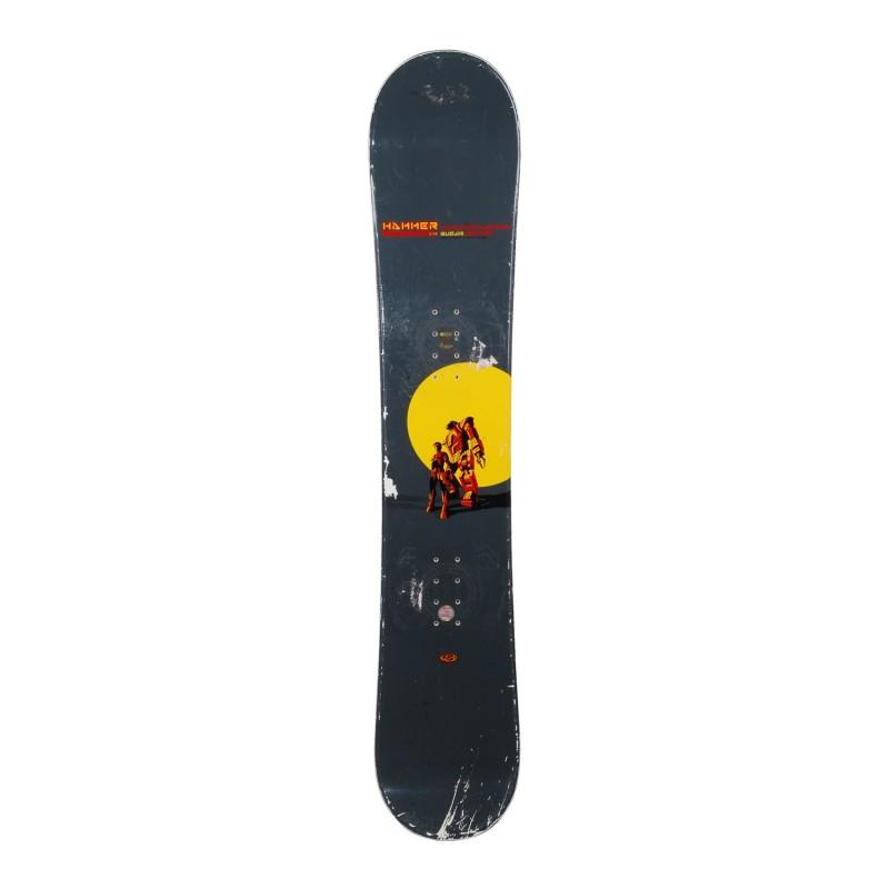 Snowboard occasion Hammer Sugar Serie + fixation - Qualité C