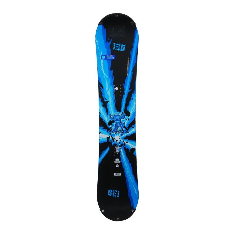 Snowboard occasion junior Rossignol accelerator s + fixation coque - Qualité A