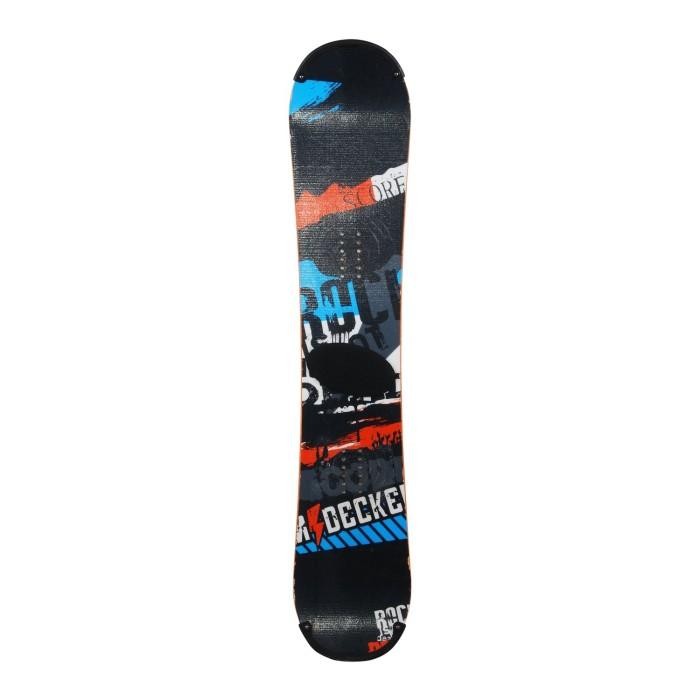 Snowboard occasion Nidecker Score + fixation coque