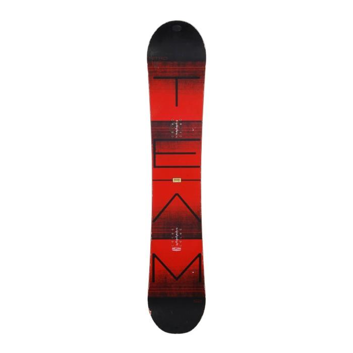 Snowboard-Anlass Nitro Gullwing + Befestigung Schale