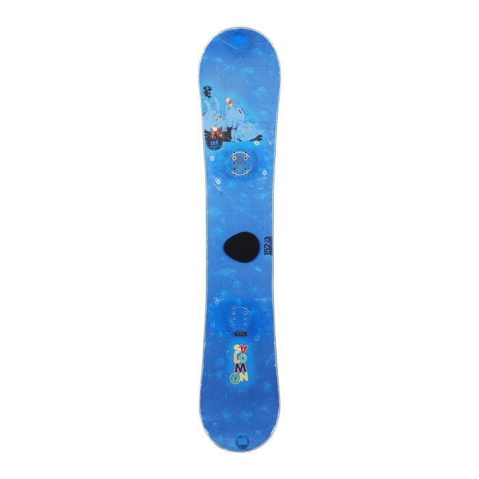 Snowboard-Anlass Salomon Drift Rocker + Befestigung Schale