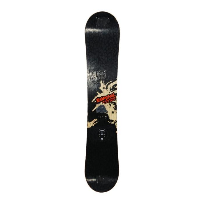 Snowboard occasion Rossignol accelerator L + fixation coque