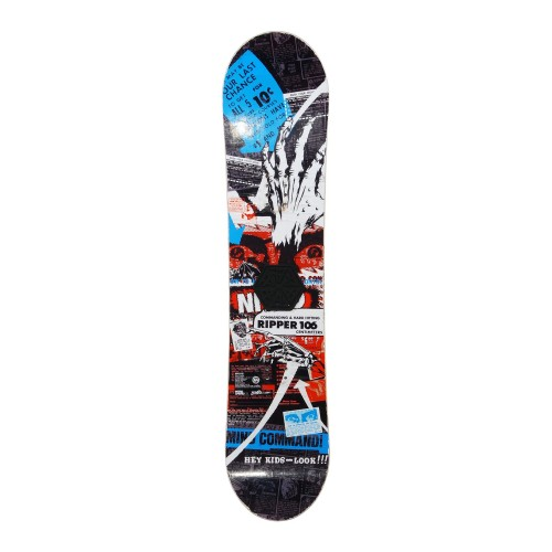 Snowboard occasion junior Nitro Ripper + fixation coque