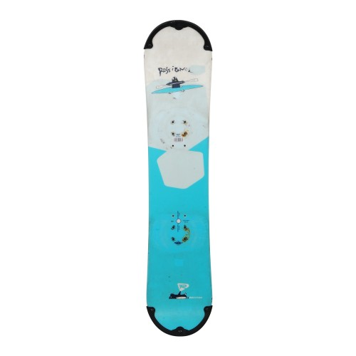 Snowboard occasion junior Rossignol mini zena + fixation coque