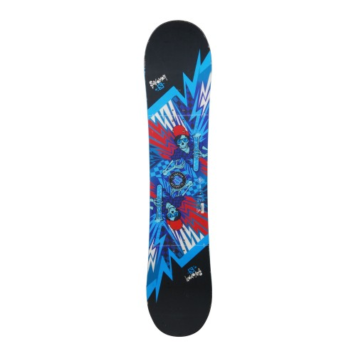 Snowboard occasion Salomon El Capitan + fixation coque