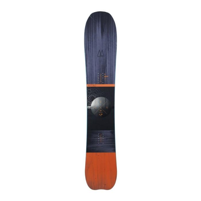 Snowboard occasion Nitro MTN + fixation coque